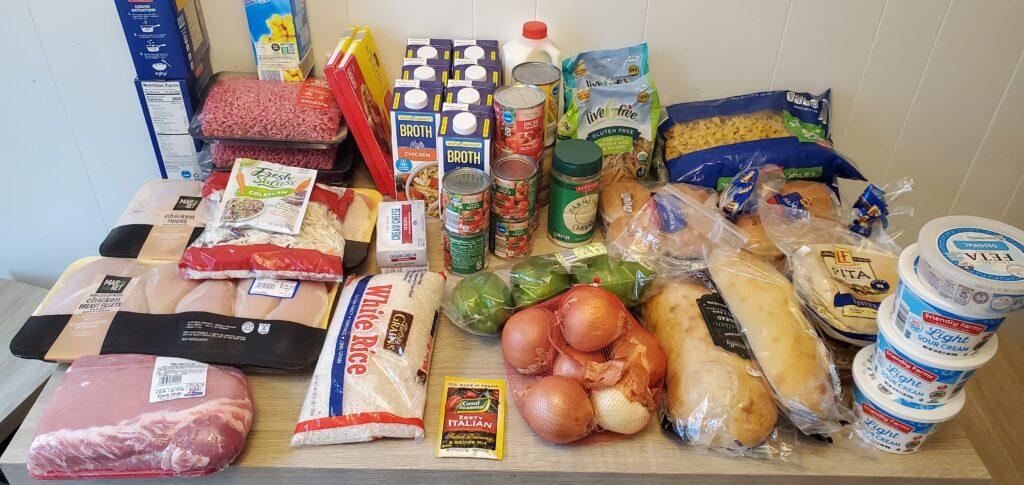 freezer cooking meal plan