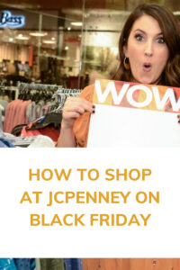 How to shop at JCPenney on Black Friday