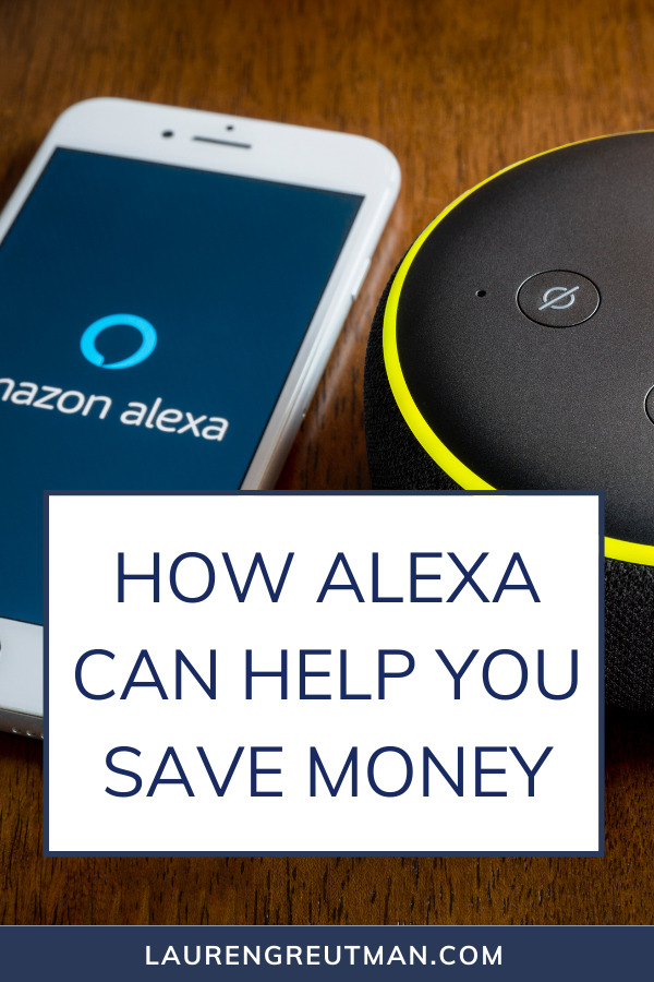 How an Alexa Can Help You Save Money