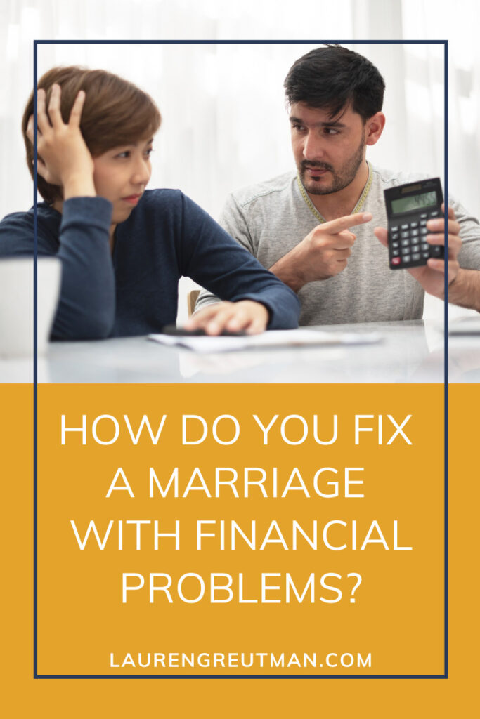 Fix a Marriage With Financial Problems