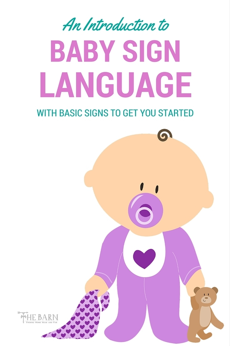 An Introduction to Baby Sign Language