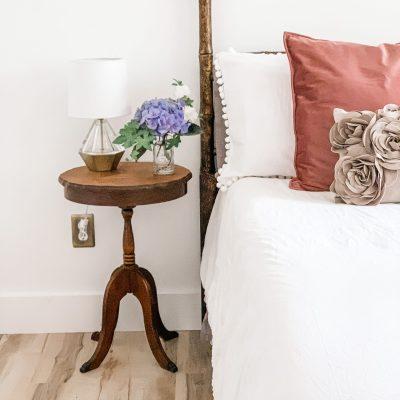 One Room Challenge Week 2: Bedding