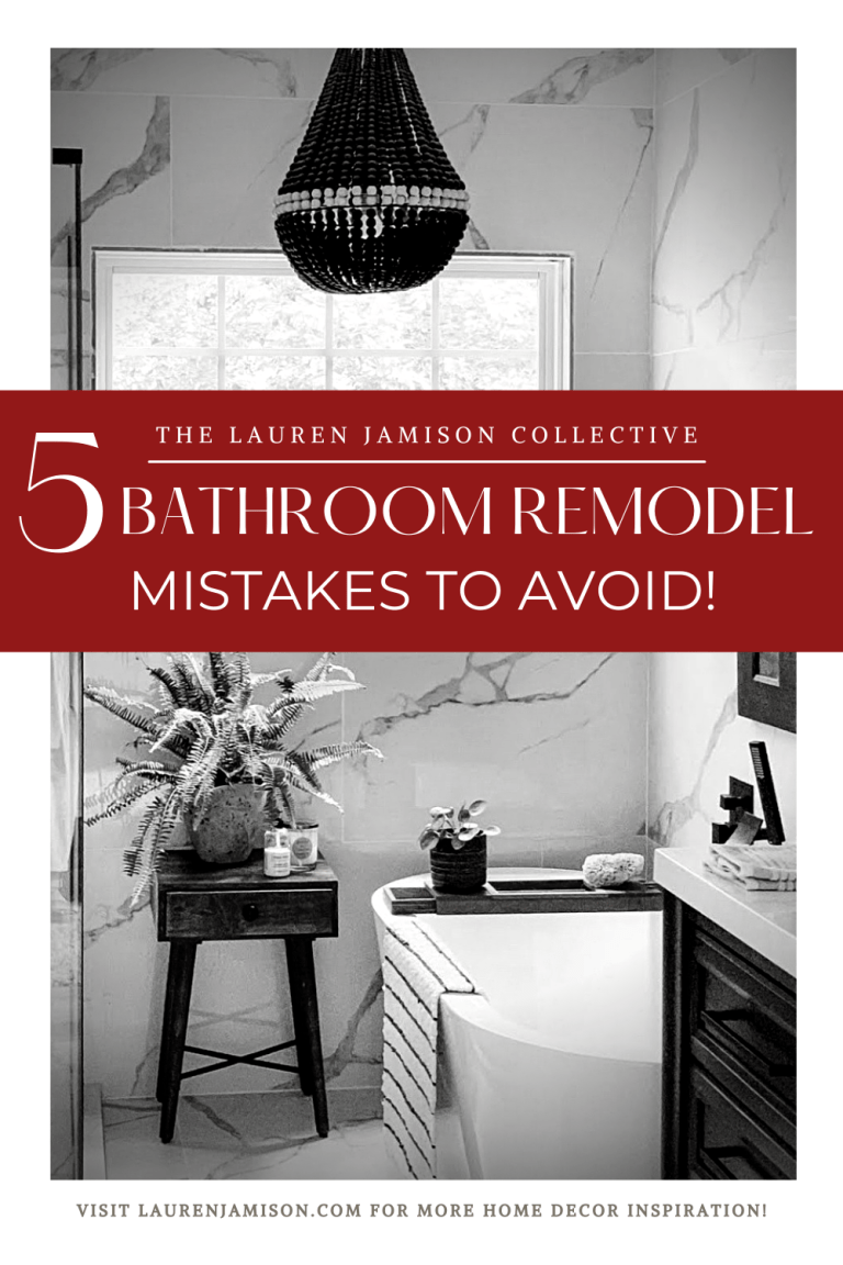 Bathroom Remodel – 5 Mistakes To Avoid