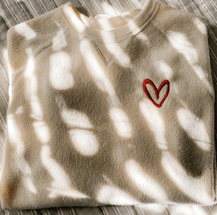 House of Shan's Live What You Love Sweatshirt