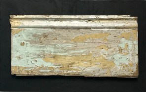 'Home' - Baseboard on Plywood