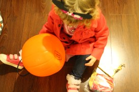Using mommy's pumpkin from when she was a little girl