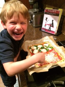 Healthy Kids Pizza