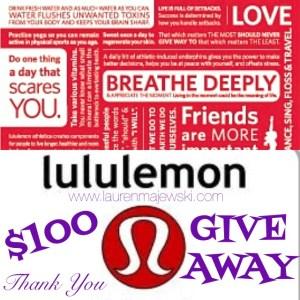 lululemon gift card giveaway