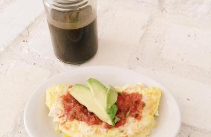 Salsa Omelet