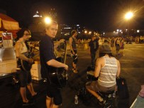 After playing an outdoor festival in Rochester, NY we decided to play some acoustic songs as people were leaving.