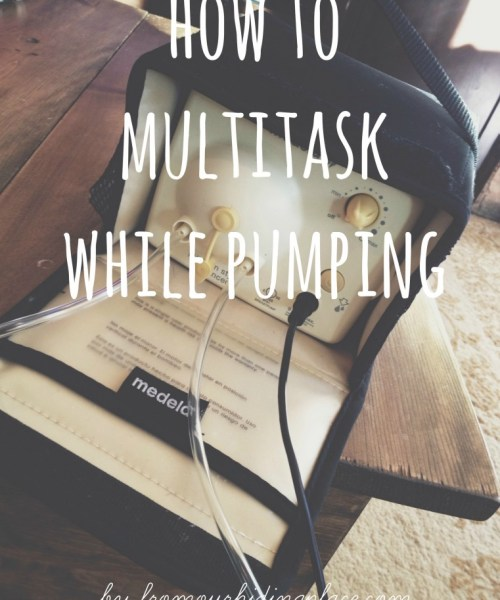 Mastering the Pump: How to Multitask While Pumping