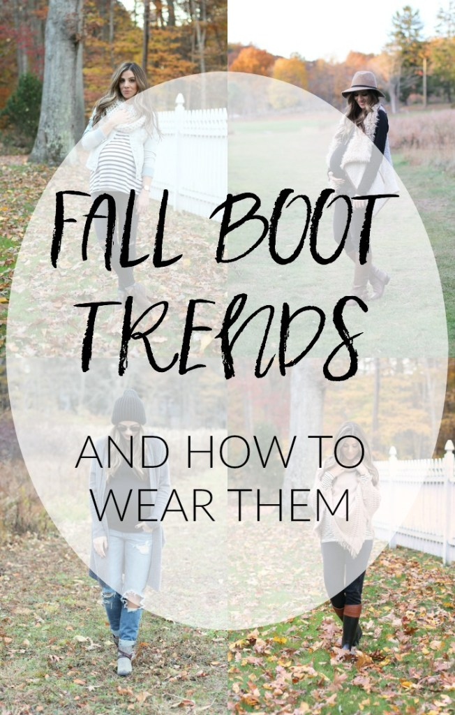 Fall boot trends and how to wear them, fall fashion