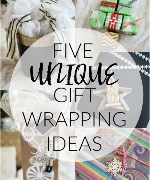 Home // Unique Gift Wrapping Ideas