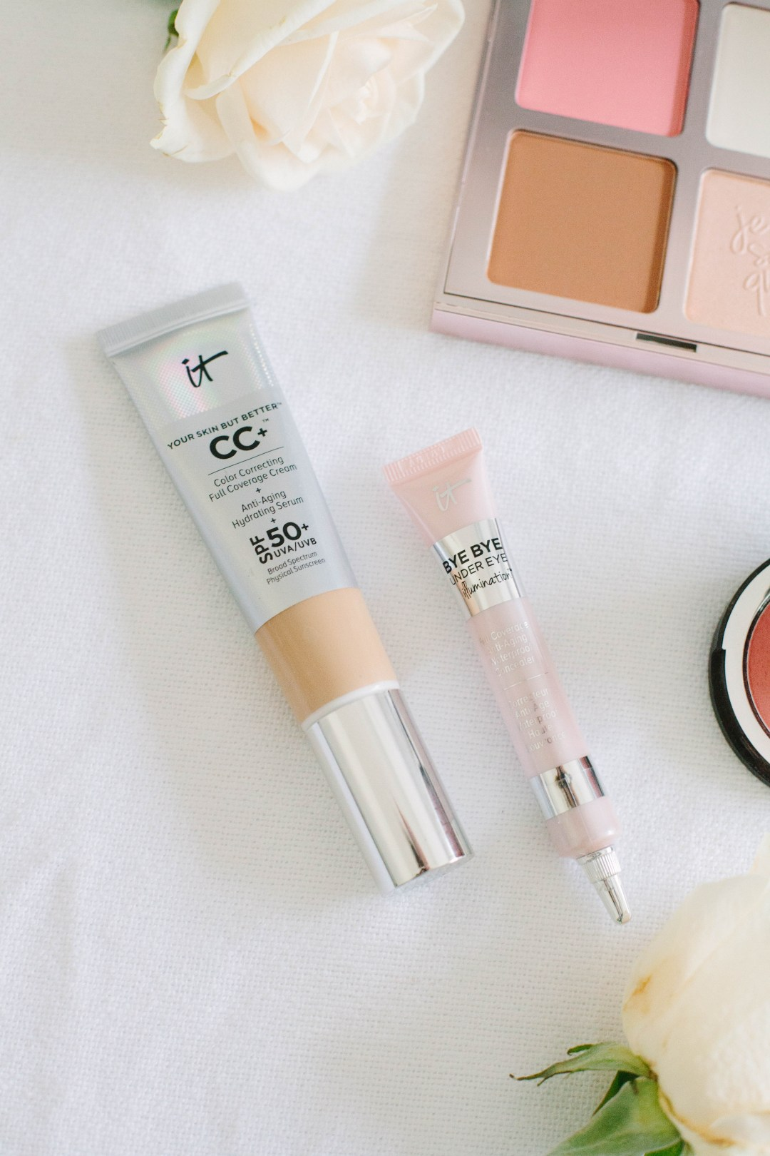 Not sure what makeup to buy? The best It Cosmetics products include their CC Cream and Bye Bye Under Eye Concealer!