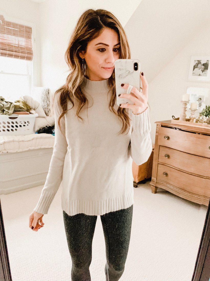 Connecticut life and style blogger Lauren McBride shares her December Amazon Try-On featuring Amazon's private fashion brands and other seasonal options.