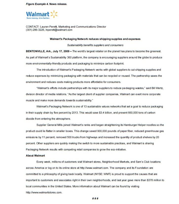 Walmart Sustainability Wiredmedia Blog