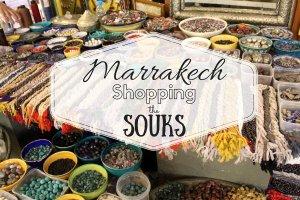 Marrakech: Shopping the Souks