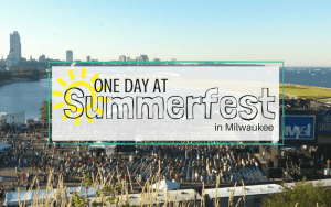 One Day at Summerfest in Milwaukee