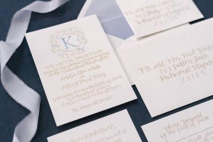 french-blue-gold-watercolor-monogram-calligraphy-invitation-suite-silk-ribbon-4