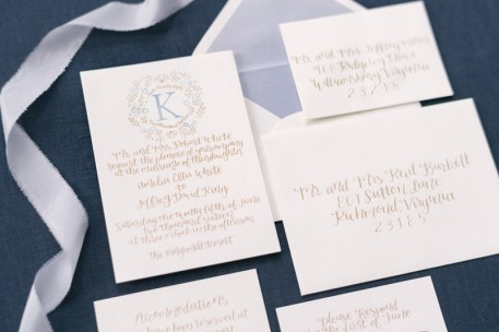french-blue-gold-watercolor-monogram-calligraphy-invitation-suite-silk-ribbon-7