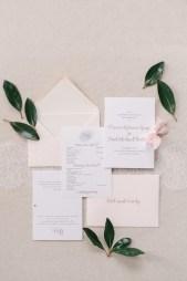 pink-rose-gold-french-blue-envelope-wedding-program-welcome-card-1