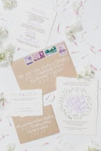 purple-green-floral-watercolor-invitation-calligraphy-kraft-vintage-stamps-envelope-2
