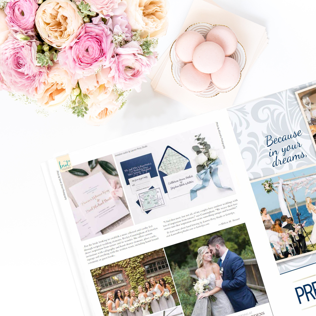 Coastal Virginia Bride Magazine – Featured