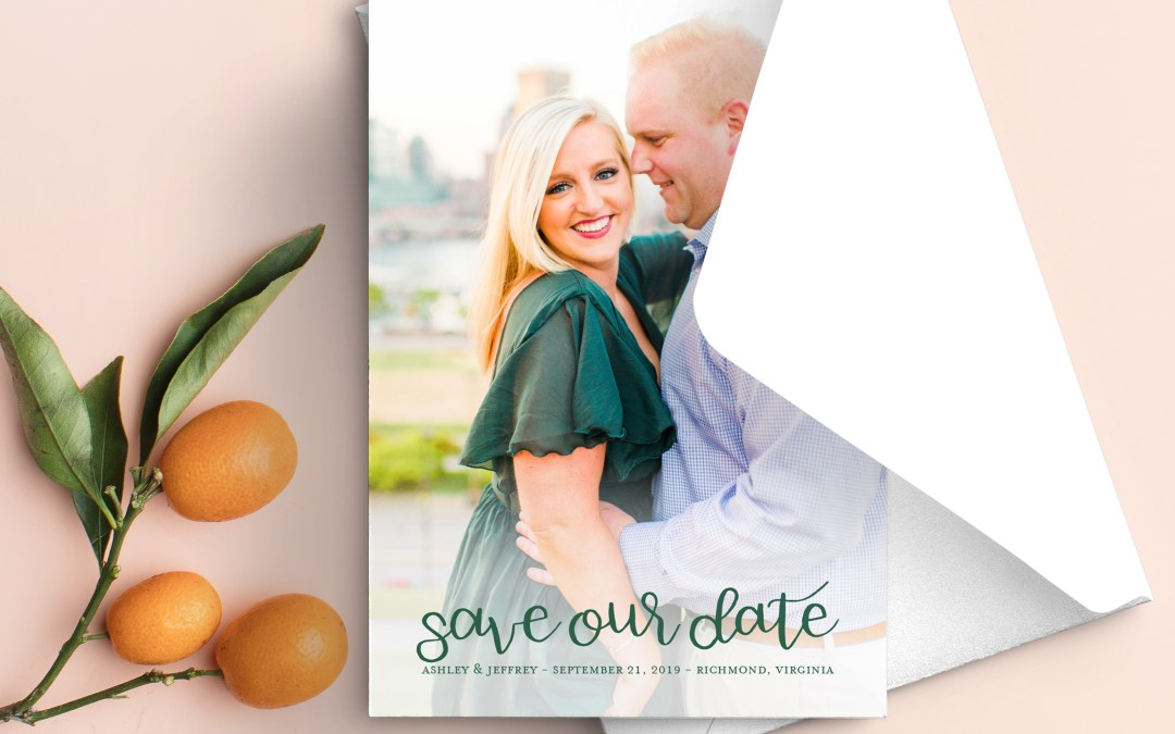 Semi-Custom Save the Dates