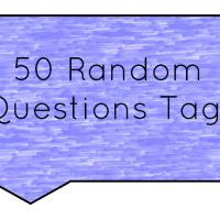 50 Random Questions Tag