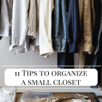 11 Tips to Organize A Small Closet on a Budget