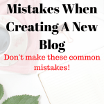 Avoid These Tragic Mistakes When Starting A New Blog