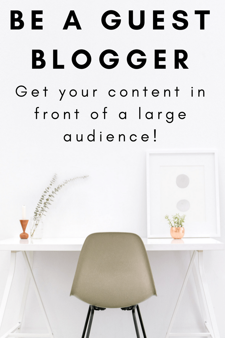 Be a guest blogger! #freelance #bloggingtips