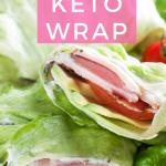 Keto Turkey Club Lettuce Wrap
