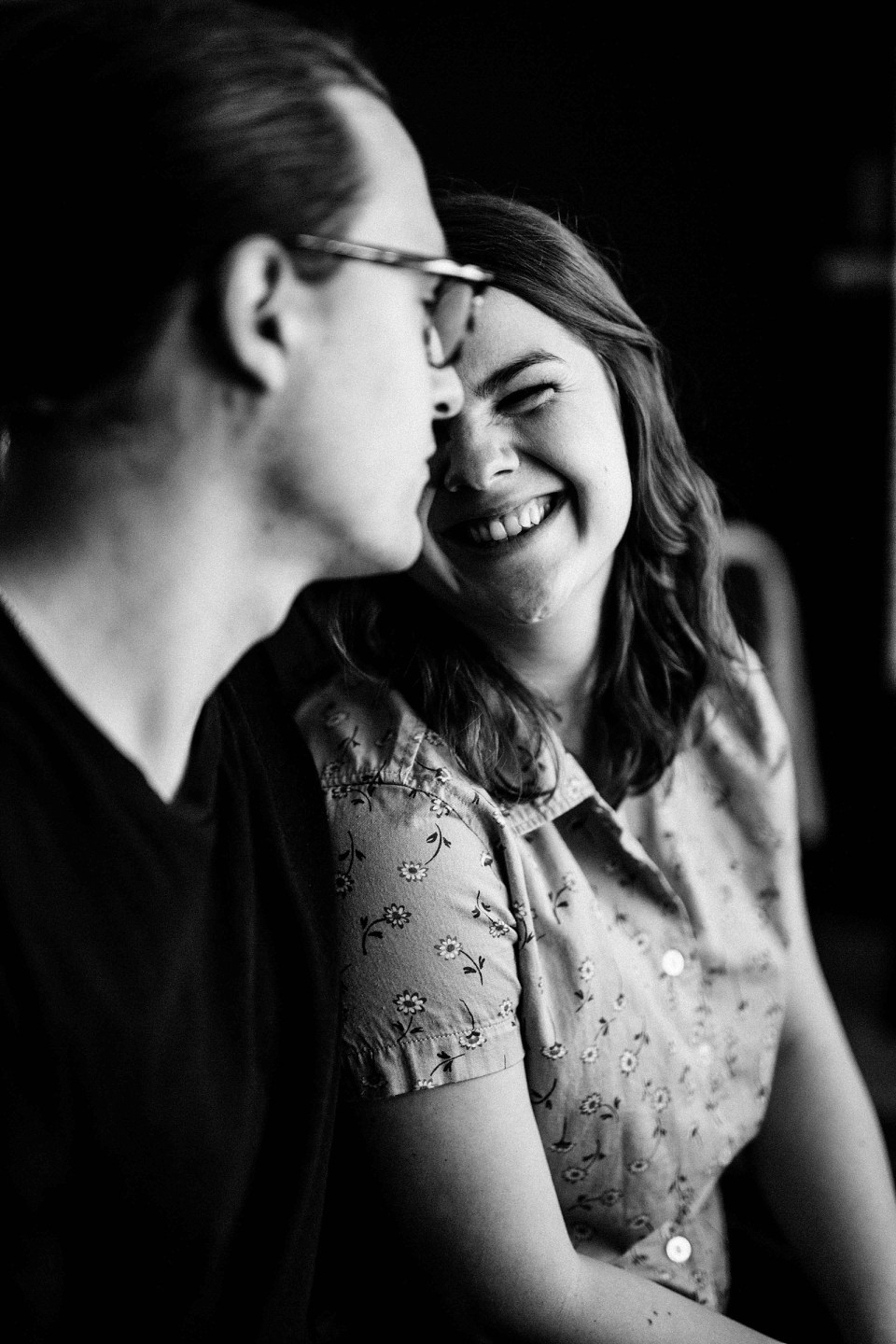Intimate In-Home Session-Minneapolis Engagement Photographer