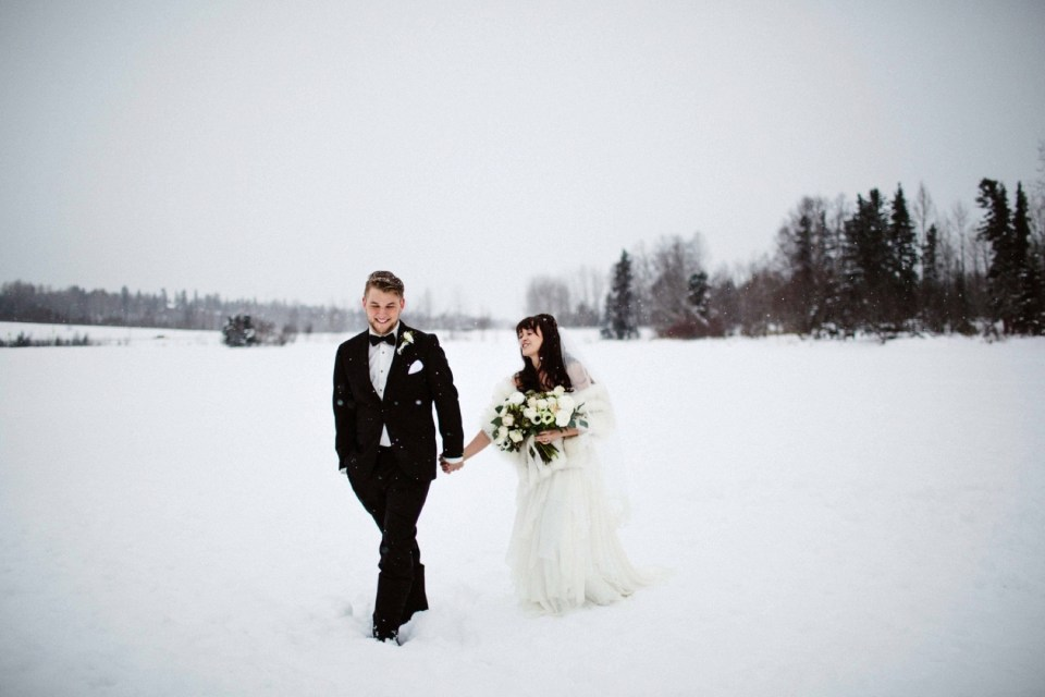 winter wedding fur rondy lauren roberts