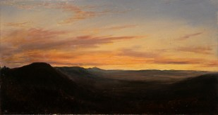 Scene of Sunset