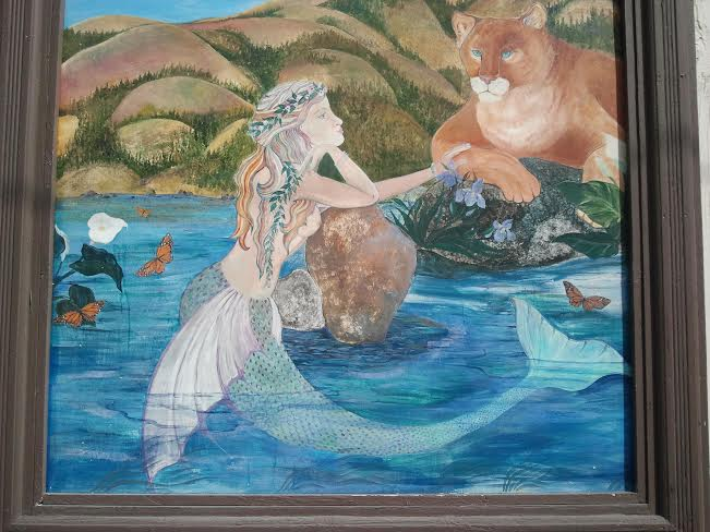 Mermaid and Lion