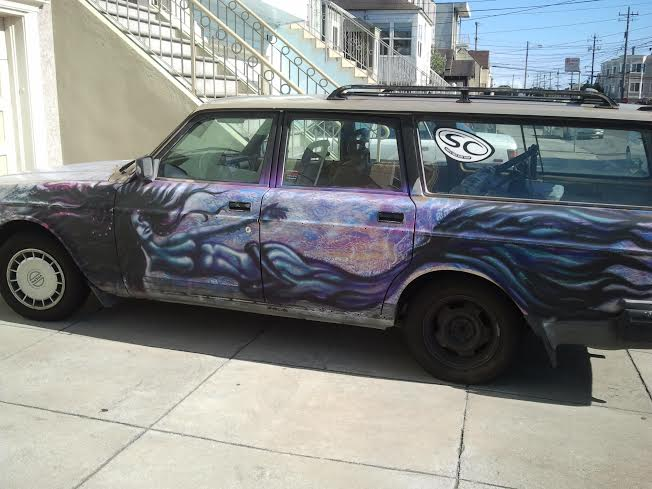 Mermaid Car