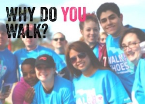 Call for Stories: Walk in My Shoes 2014 #WhyIWalk