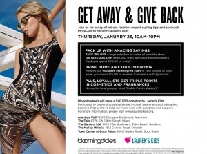 Bloomingdale's Florida Charity Day