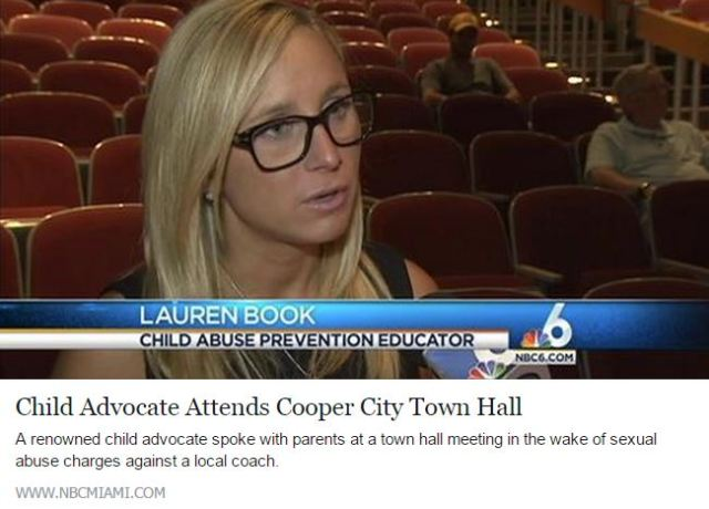 Child Advocate Attends Cooper City Town Hall in Wake of Coach Sex Abuse Allegations