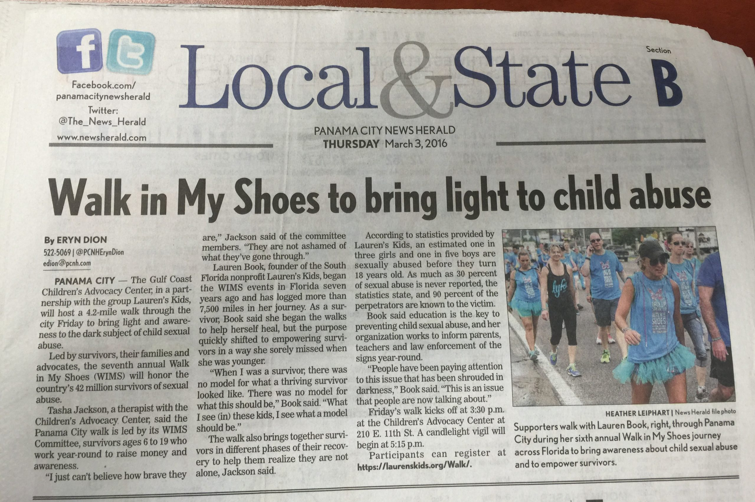 Bring Light to Child Abuse