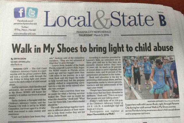 Walk in My Shoes Brings Light to Child Abuse