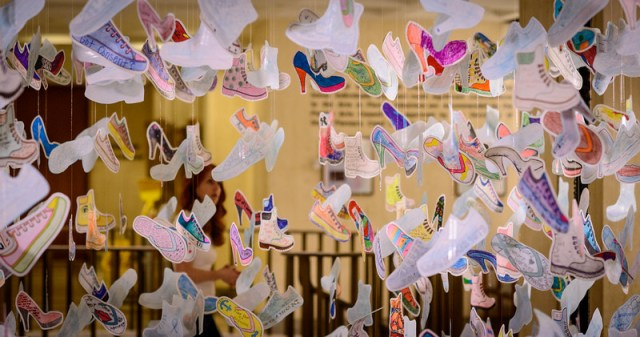 Capitol Shoes Display