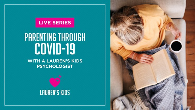 VIDEO: Parenting through COVID-19 with Dr. Ali Golden