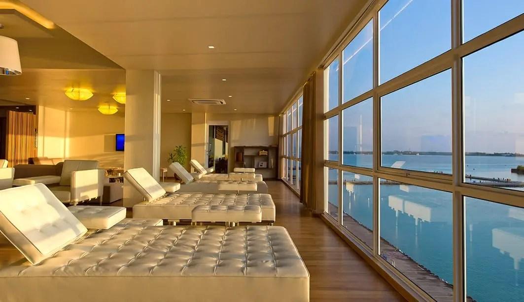 Conrad Maldives - Seaplane Lounge