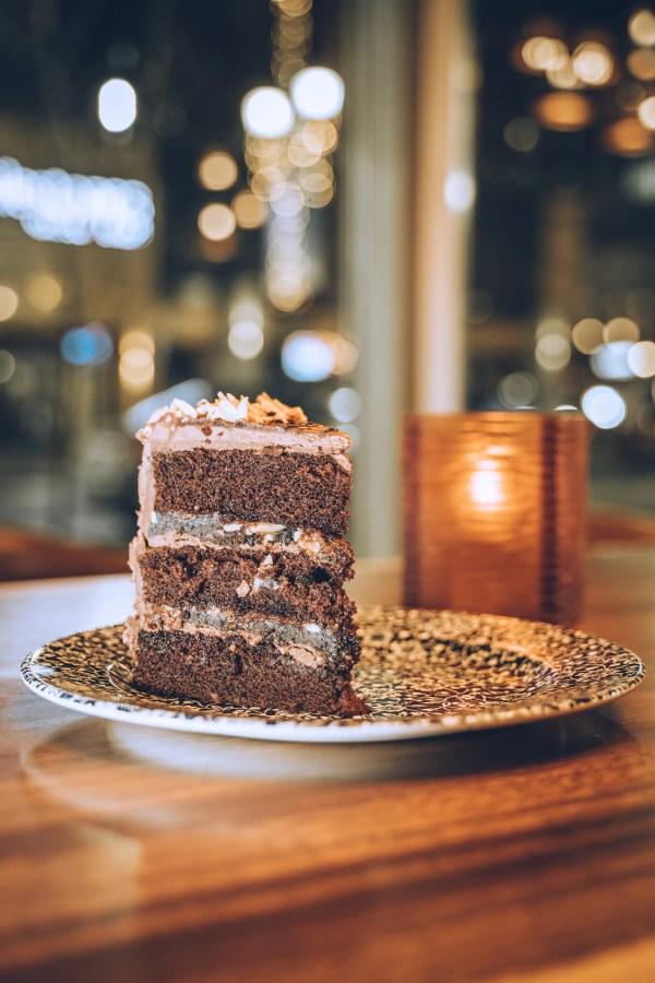 Hyatt Regency Calgary - Cake of the Week (Chocolate) at Thomsons Kitchen & Bar