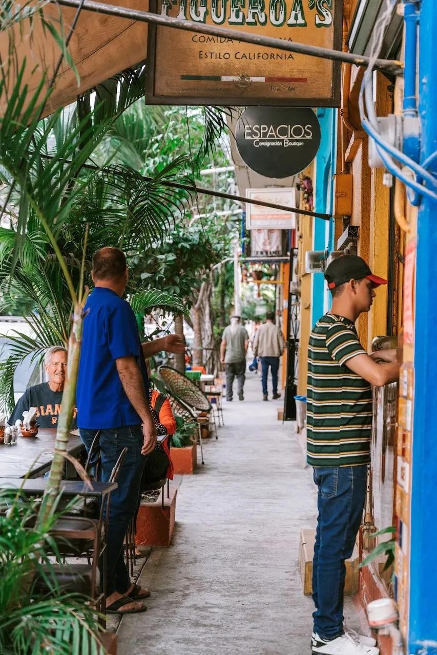 12 Hours in Puerto Vallarta - Zona Romantica cafes and taquerias