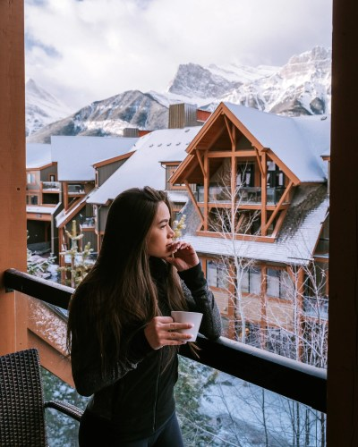 48 Hours in Canmore - Solara Resort & Spa 2-Bedroom Suite Balcony