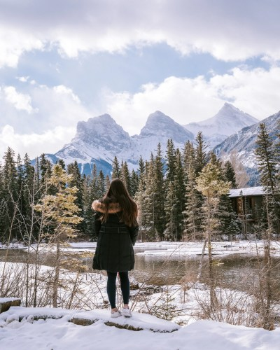 48 Hours in Canmore - Policeman Creek & Three Sisters